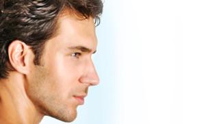 man-facial